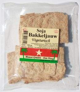 Soja bakkeljauw 150 gr