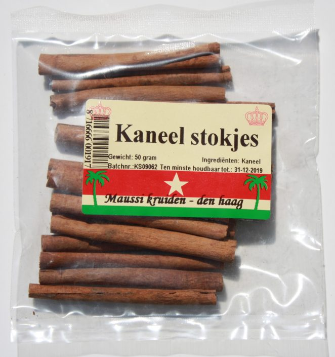 kaneel stokjes 50 gr