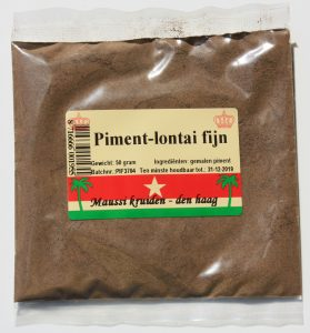 Piment fijn 50 gr