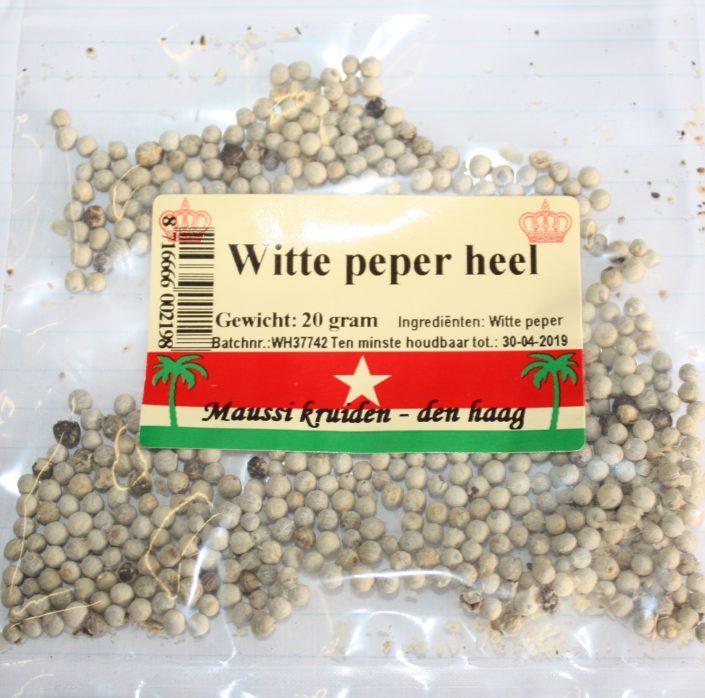 witte peper heel 20 gr.