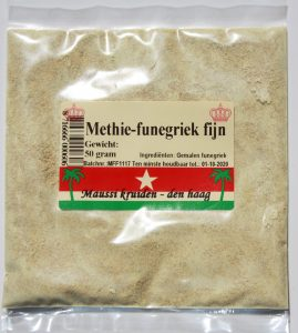 Methie-funegriek fijn 50 gr