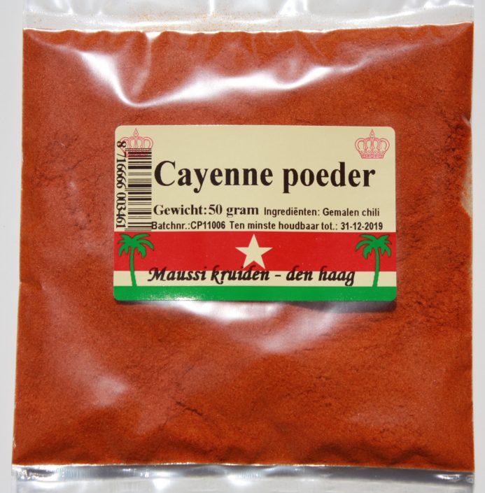 cayenne poeder 50 gr
