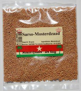 sarso-mosterdzaad 50 gr