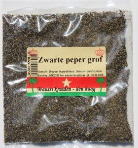 zwarte peper grof